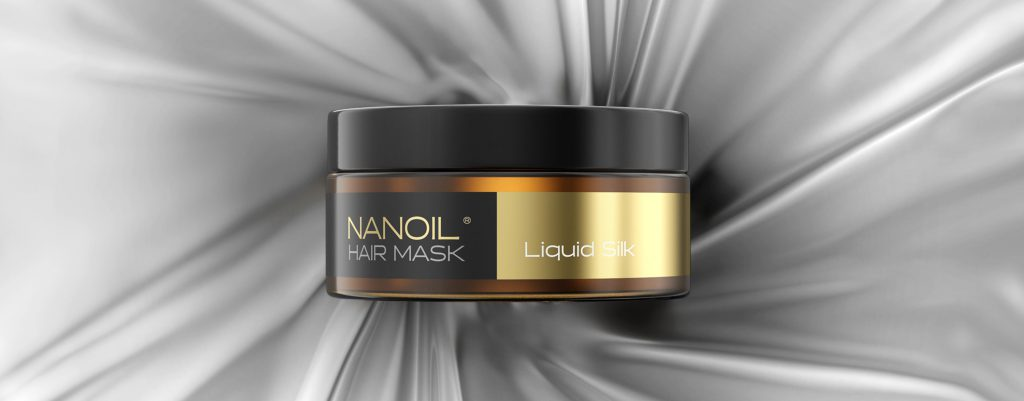 nanoil liquid silk hair mask